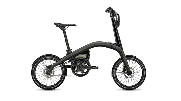 The ARĪV Meld (pictured) is a compact eBike that can be pre-ordered