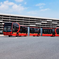 BYD World's Longest Pure Electric Bus